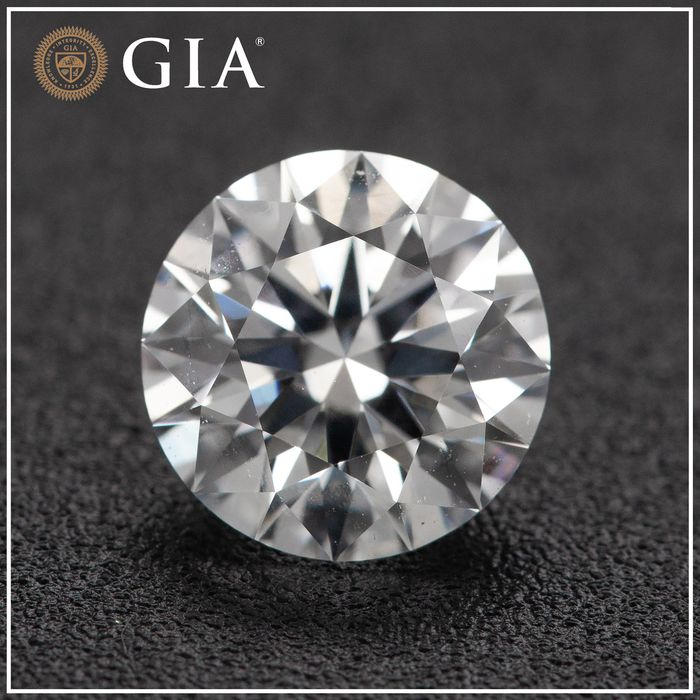 Diamante - 1.08 ct - Brillante - D (incoloro) - VVS2