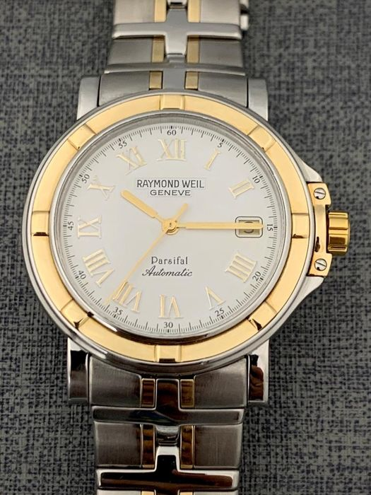 Raymond Weil - Parsifal Automatic 18K Gold/Steel - 2830 - Men - 2000-2010