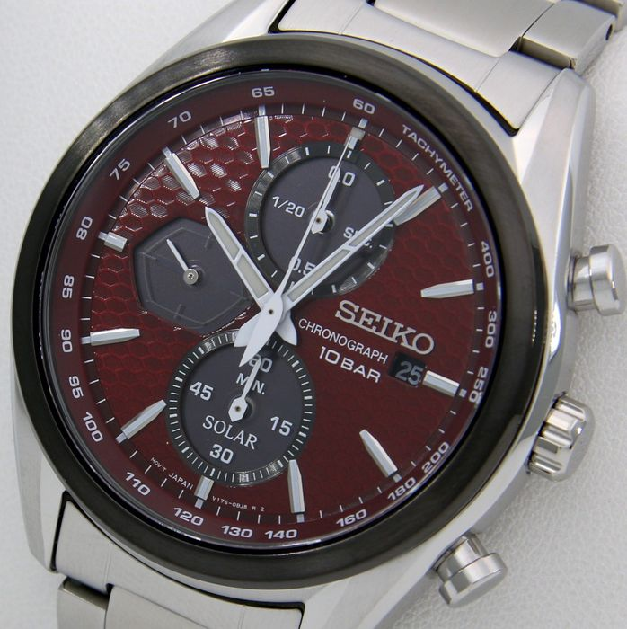 "Seiko - ""NO RESERVE PRICE"" ""Special Edition MACCHINA SPORTIVA"" Red/Black - SSC771P1 - Men - 2020"