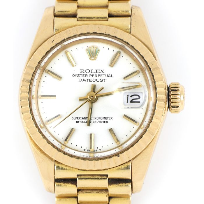 Rolex - Oyster Perpetual Datejust - 6917 - Women - 1980-1989