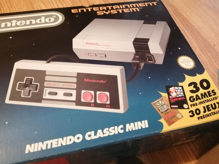 1 Nintendo Nintendo Nes Classic mini - Console with games (30) - In original box