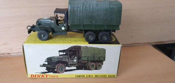 Dinky Toys - 1:50 - Dinky Toys nr. 809 Militaire GMC truck  French Dinky