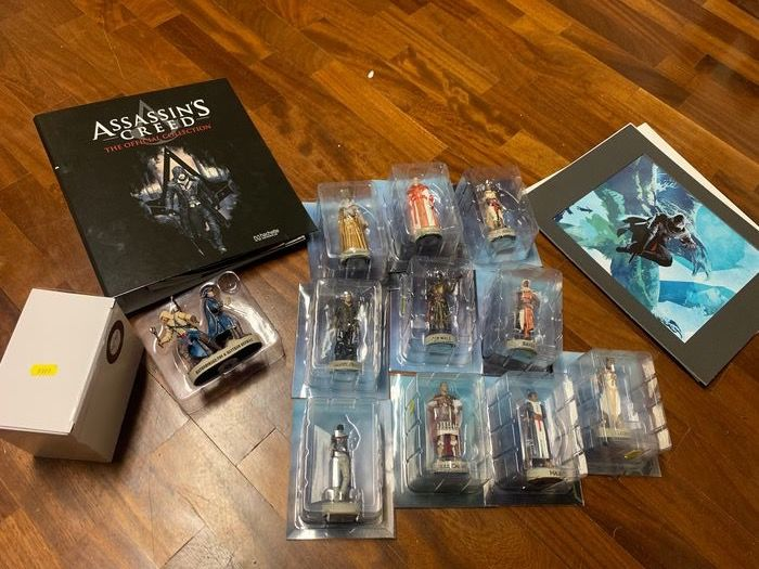 13 Ubisoft - Assassin's Creed figures Collection Assassin's Creed - Figurine(s)