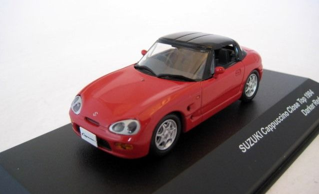 J-Collection - 1:43 - Suzuki Cappuccino 1994 Red - Limited Edition - Mint Boxed - Factory Sold Out