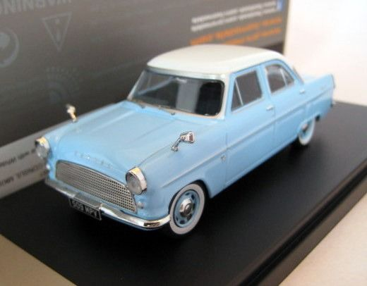 Premium X - 1:43 - Ford Consul MKII 1959 Lightblue with white roof - Limited Edition - Mint Boxed - Factory Sold Out
