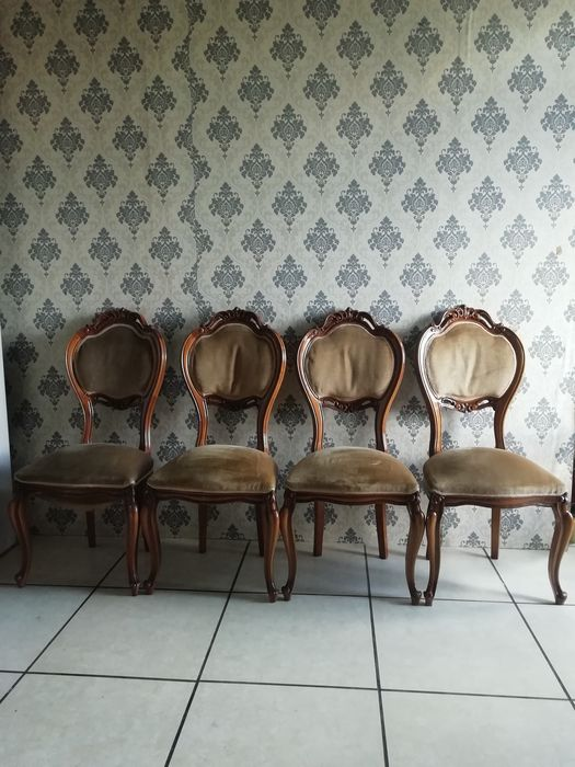Dining room chair (4) - Louis Philippe Style
