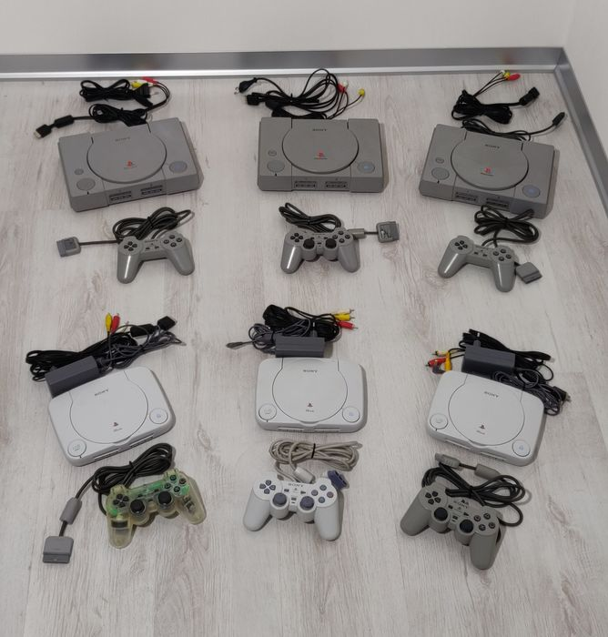 6 Sony PlayStation - PSone - Console