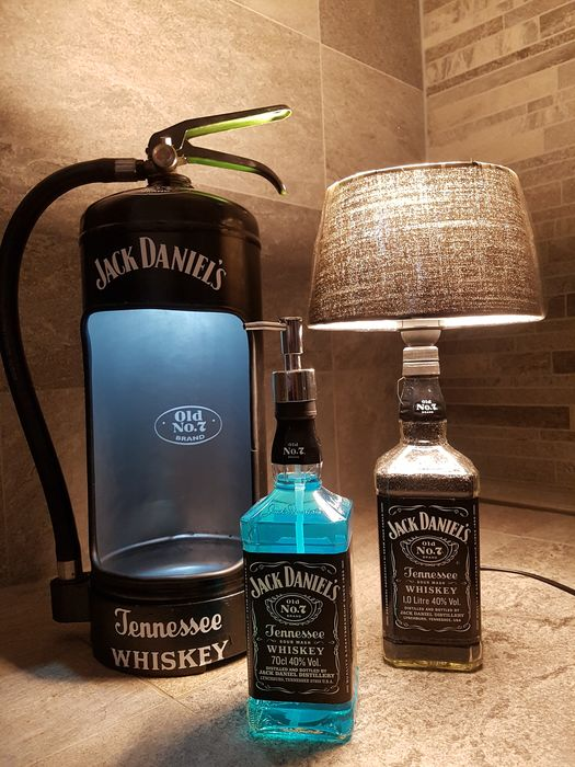 Jack Daniel's Fire Extinguisher, Lamp & Hand Soap - 70cl
