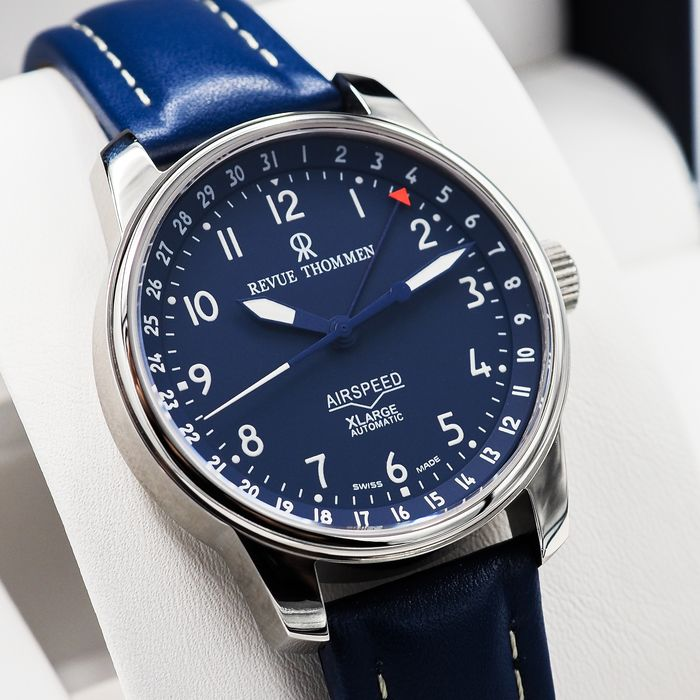 """Revue Thommen - Airspeed Aviator Automatic - """"NO RESERVE PRICE"""" 16050.2535 - Homme - 2011-aujourd'hui"""