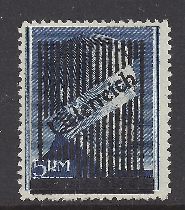 Austria 1945 - Overprint on Hitler stamp - Michel Vd A