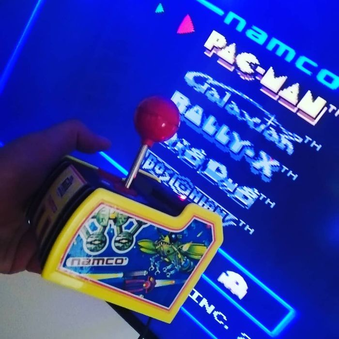 1 Namco Retro/Vintage classic 80s arcade games with this Namco plug-and-play TV Games - Console avec jeux (5)