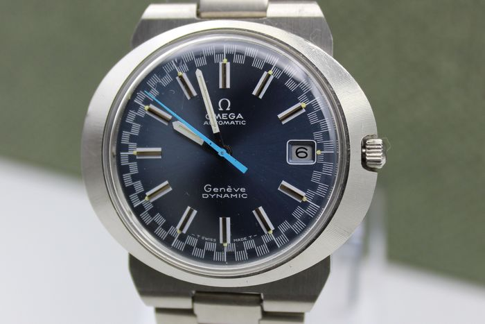 """Omega - Genève Dynamic - Shadow blue Racing dial - Automatic  - """"NO RESERVE PRICE"""" - Uomo - 1970-1979"""