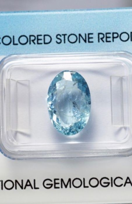 Blue Tourmaline Paraiba - 3.50 ct