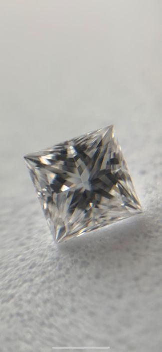1 pcs Diamond - 0.31 ct - Princess - D (colourless) - IF (flawless), LC (loupe clean)