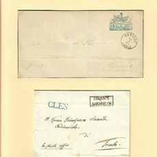 Austria 1836/1910 - 68 official letters Trentino, South Tyrol