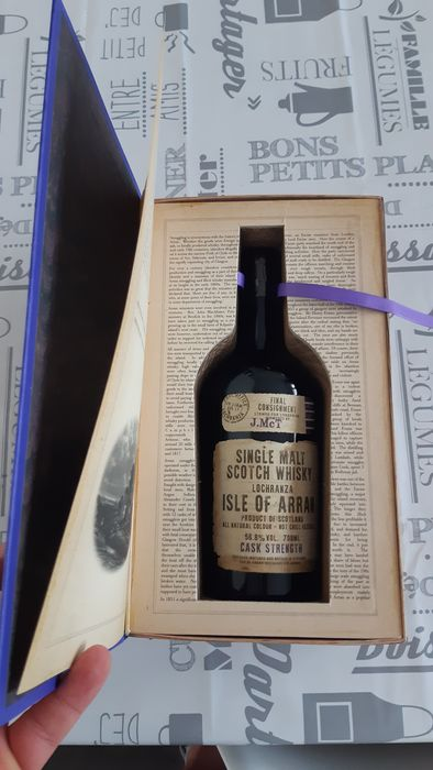 """Arran Smugglers' Series Volume 3 """"The Exciseman"""" - 70cl"""