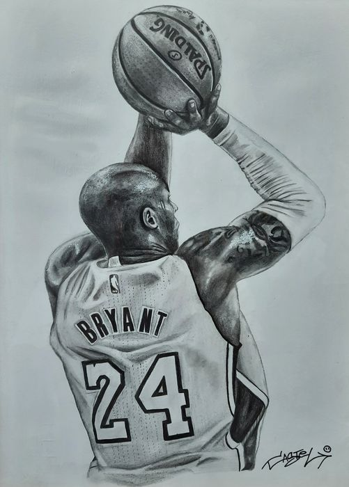 Los Angeles Lakers - NBA Basketball - Kobe Bryant - Kunstwerk