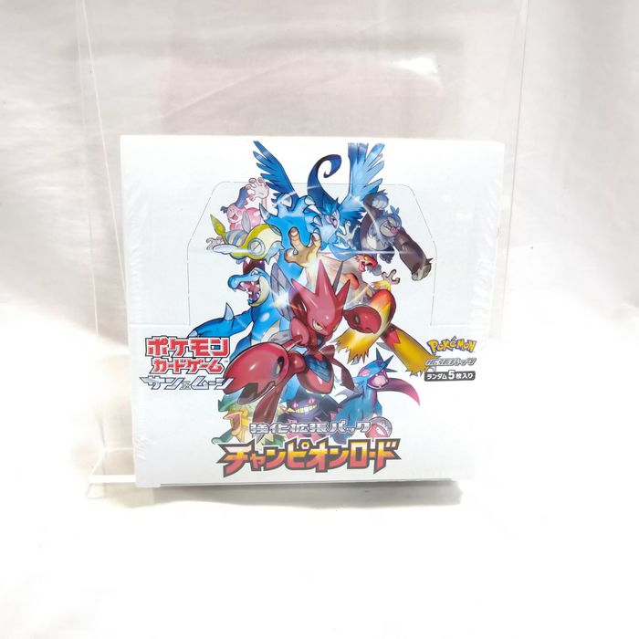 Pokemon - Doos Trading card Pokemon Card Sun and Moon Champion Road  Unopend BOX which has 30 packs