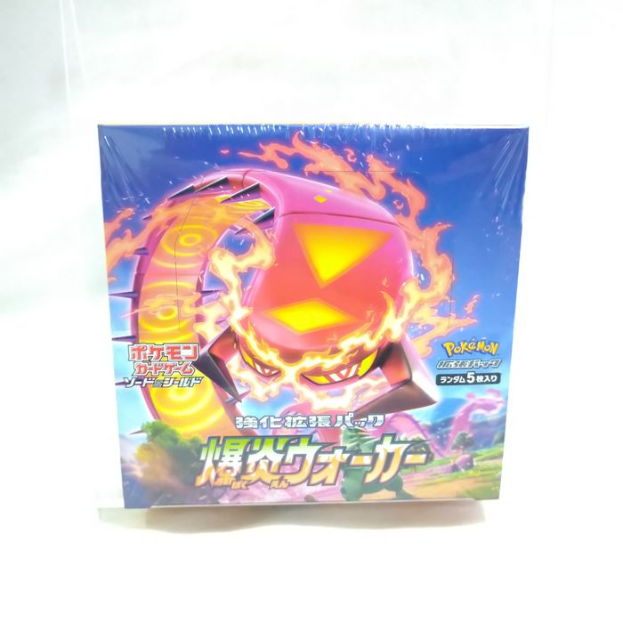Pokemon - Scatola Trading card Pokemon Card Sword and Shield Explosion Walker Unopend BOX which has 30 packs