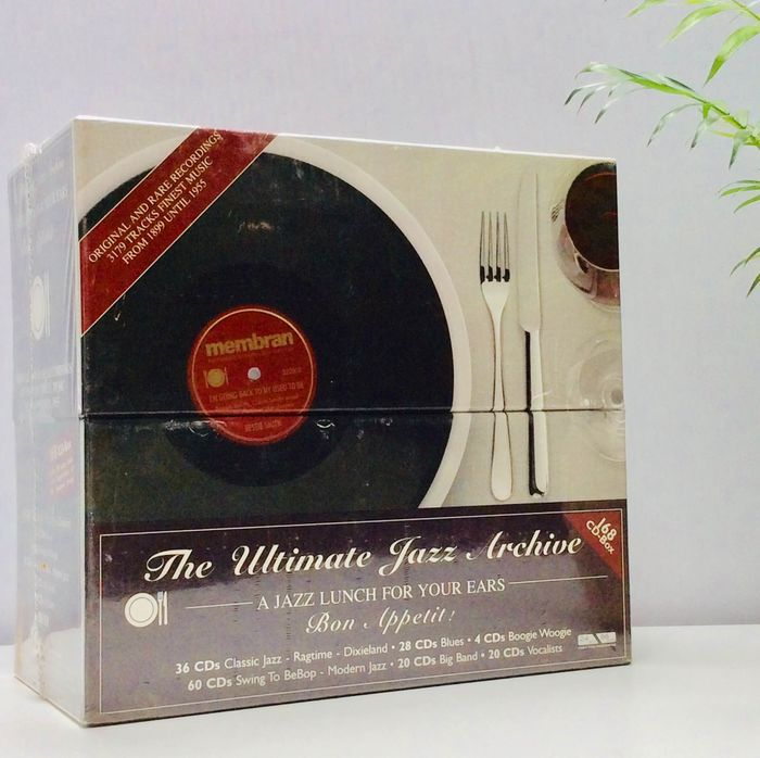 Various Artists/Bands in Jazz - Multiple artists - A Jazz Lunch For Your Ears, the Ultimate Jazz Archive - CD Box set - 2005/2005