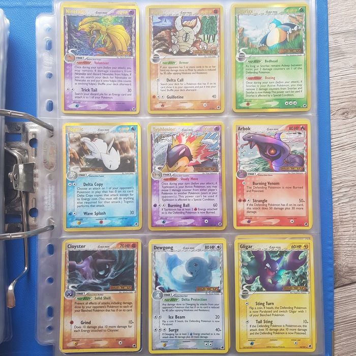 Pokemon - Album complet Delta Spieces DF collection with EX Dragonite included