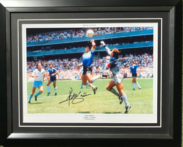 England - Coupe du Monde de Football - Peter Shilton - Photo