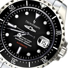 "Tecnotempo - ""NO RESERVE PRICE"" Diver 2000M / 6500FT ""Born For Depths"" - Limited Edition 50PCS"" - - TT.2000.SN (Black) - Herren - 2020"