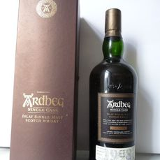 Ardbeg 1998 Single Cask - cask no. 2763 - Cask Strength - refill sherry  - Original bottling - b. 2009 - 70cl