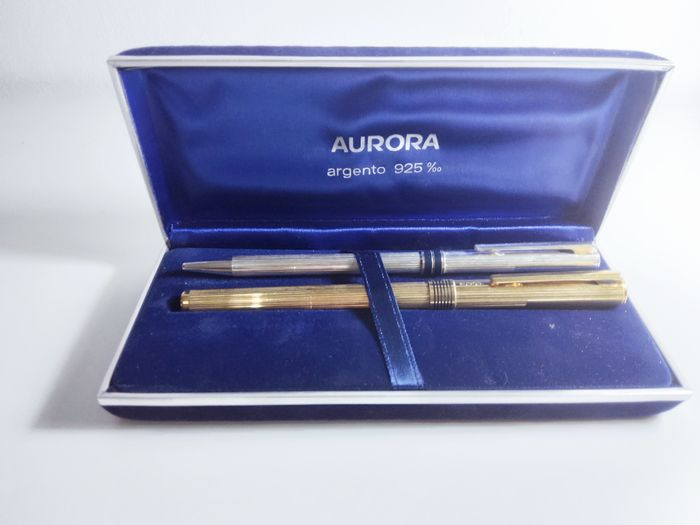 Aurora - Fountain pen - Complete collection of 2