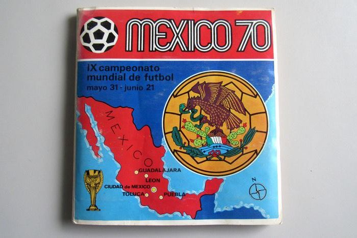 Panini - World Cup Mexico 70 - Album completo