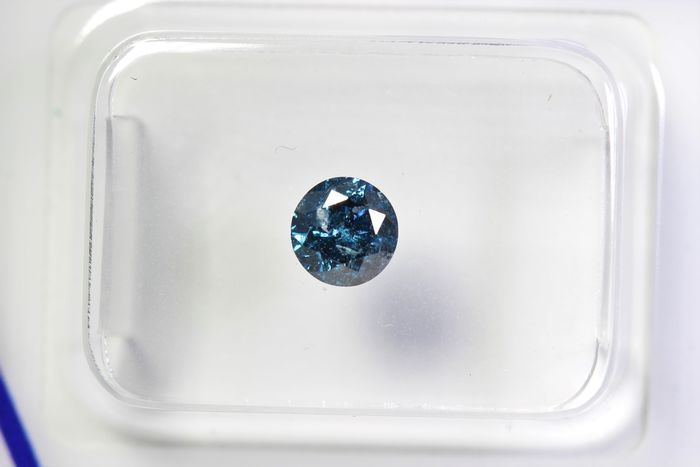Diamant - 0.46 ct - Brillant - P2 - * NO RESERVE PRICE *