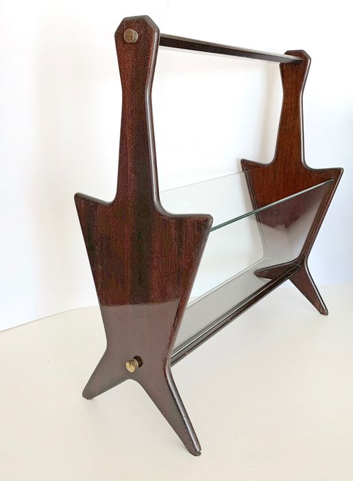 Italian magazine holder/ rack manufactured during the 1950s
