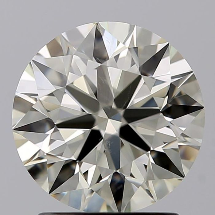 1 pcs Diamond - 2.01 ct - Brilliant - M - SI1