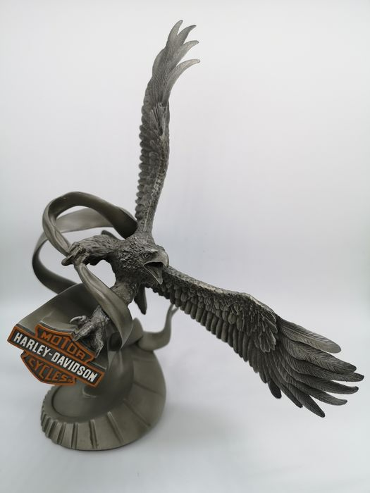 Artículo decorativo - Spirit of the Open Road Sculpture - Franklin Mint  - 1990-2000