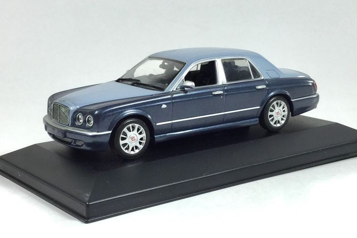 MiniChamps - 1:43 - Bentley Arnage R (05 MY) 2001 - Limited Edition. Zeldzaam.