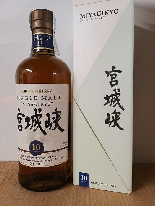 Miyagikyo 10 years old - Original bottling - 70cl