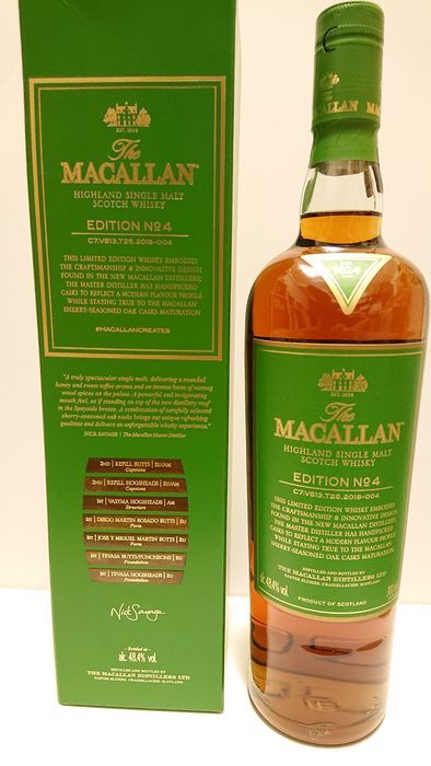 Macallan Edition No. 4 - Original bottling - 70cl