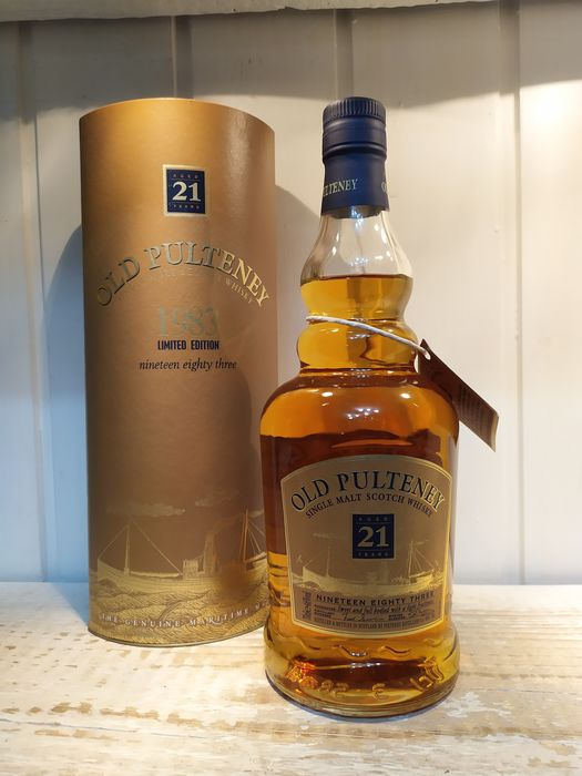Pulteney 1983 21 years old - Original bottling - 70cl