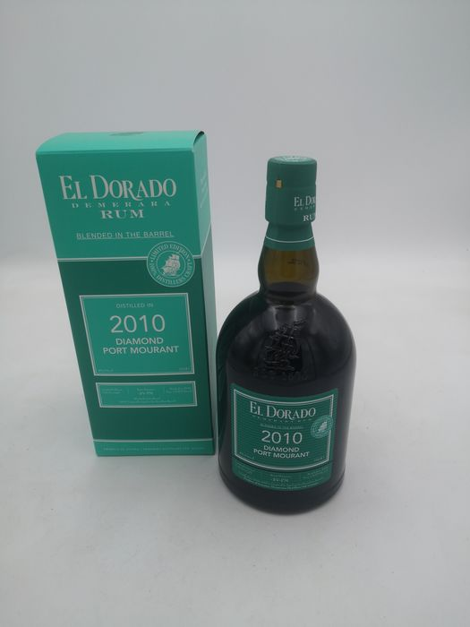 El Dorado 2010 - Blended in the Barrel - Diamond, Port Mourant demerara rum - 70cl
