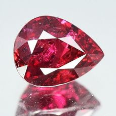Vivid Red Ruby - 3.73 ct