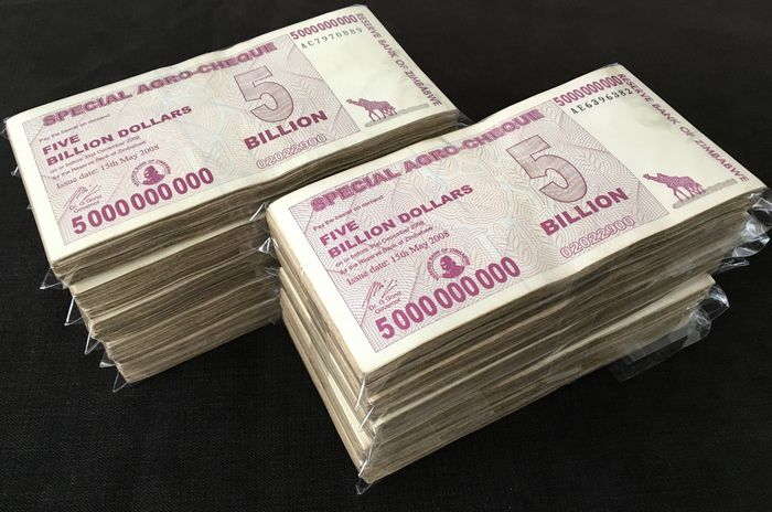 Zimbabwe - 1000 x 5 Billion Dollar 2008 - Pick- 61