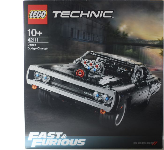 LEGO - Technic - 42111 - Samochód Dom's Dodge Charger Average rating4.3out of 5 stars