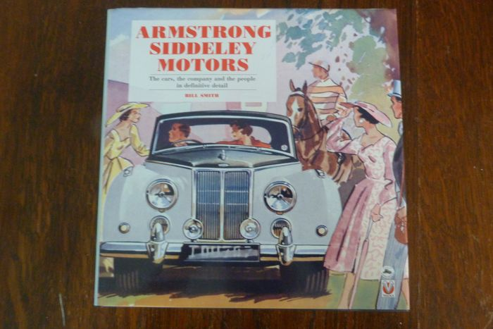 Libri - Armstrong Siddeley Motors - marque history book - Armstrong Siddeley - Dopo il 2000