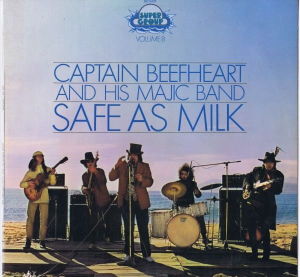 Captain Beefheart And His Majic Band - Safe As Milk (Alternate Sleeve)  - LP Album - 1969