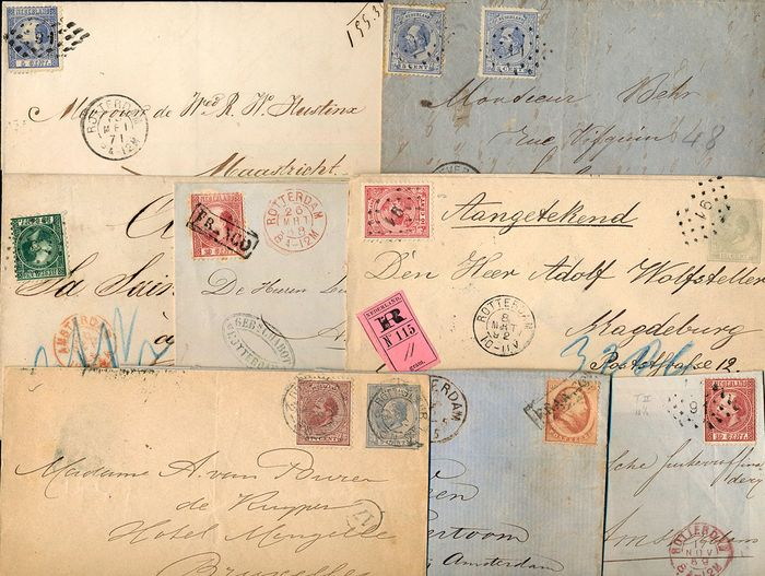 Nederland - Lot with 8 documents