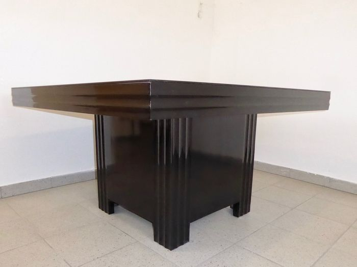 Art Deco Square Dining Table