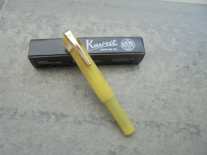 Kaweco - Fountain pen - Kaweco Sport pen light yellow edition with clip is new