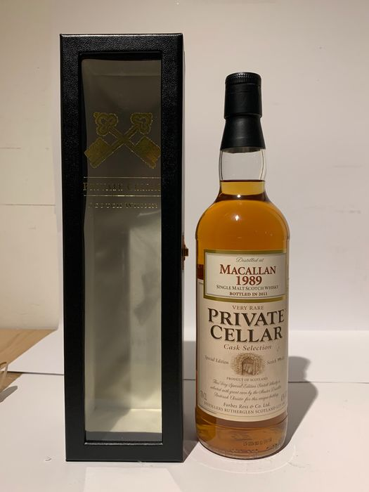 Macallan 1989 Private Cellar - Forbes Ross & Co Ltd - b. 2011 - 70cl