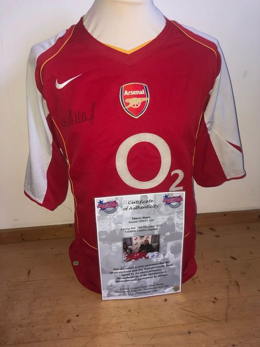 Arsenal - Premier League - Thierry Henry - 2004 - Jersey(s)