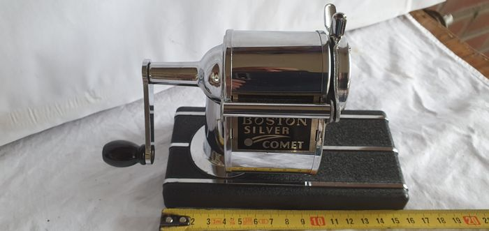 Boston Silver Comet - pencil sharpener - with box and manual